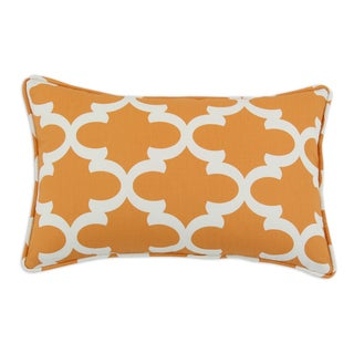 Somette Fynn Cinnamon Macon Self Backed Self Corded Throw Pillow