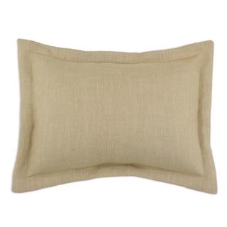 Somette Circa Solid Barley 2-inch Flanged Sham