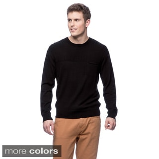 Cullen Ribbed Yoke Crew Sweater
