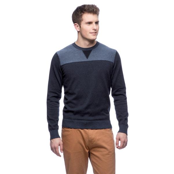 Cullen Men's Plaited Cotton Sweatshirt