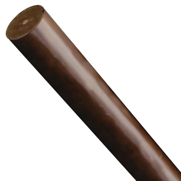 2 inch wood curtain rods