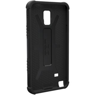 Urban Armor Gear Case for Samsung Galaxy Note 4 w/ Screen Protector - Black