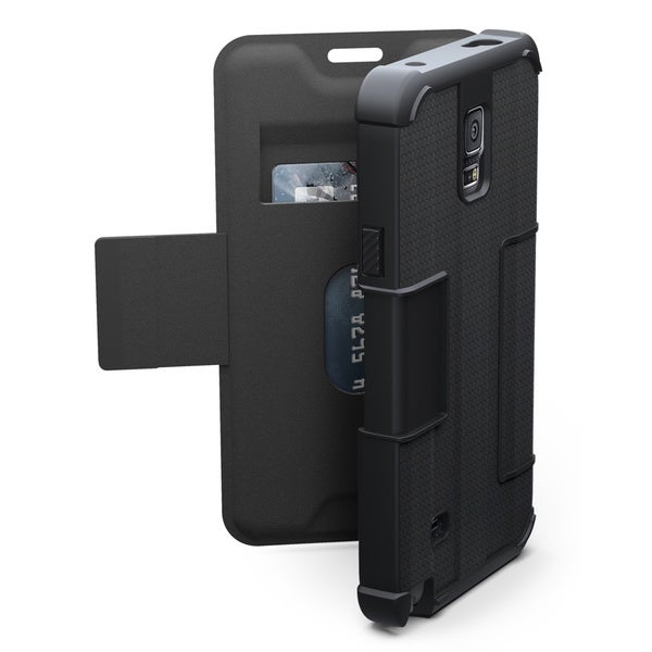 Urban Armor Gear Carrying Case (Folio) for Smartphone - Black