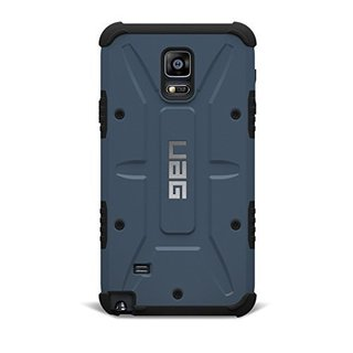 Urban Armor Gear Case for Samsung Galaxy Note 4 w/ Screen Protector - Slate