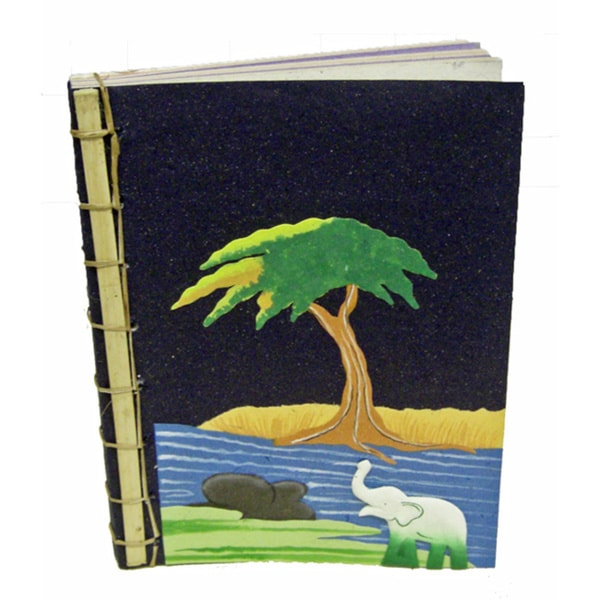 Mr. Ellie Pooh Bamboo Spined Paper Book (Sri Lanka)