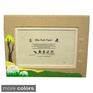 Mr. Ellie Pooh Paper Elephant Photo Frame (Sri Lanka)