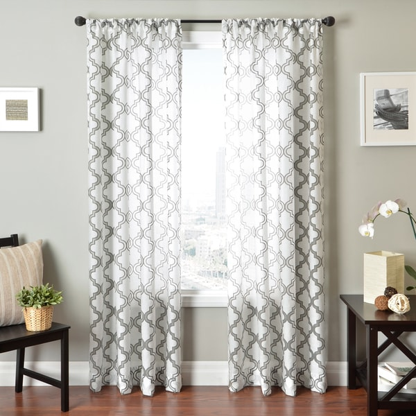 ... - 16672210 - Overstock.com Shopping - Great Deals on Sheer Curtains