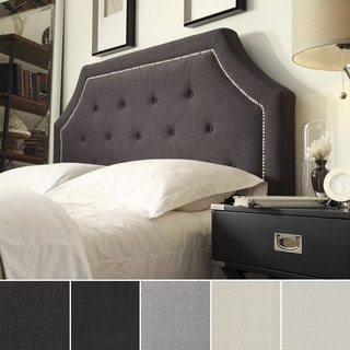 INSPIRE Q Grace Button Tufted Arched Bridge King-sized Headboard