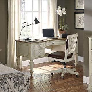 Coronado 66-inch Half Pedestal Desk with Chair