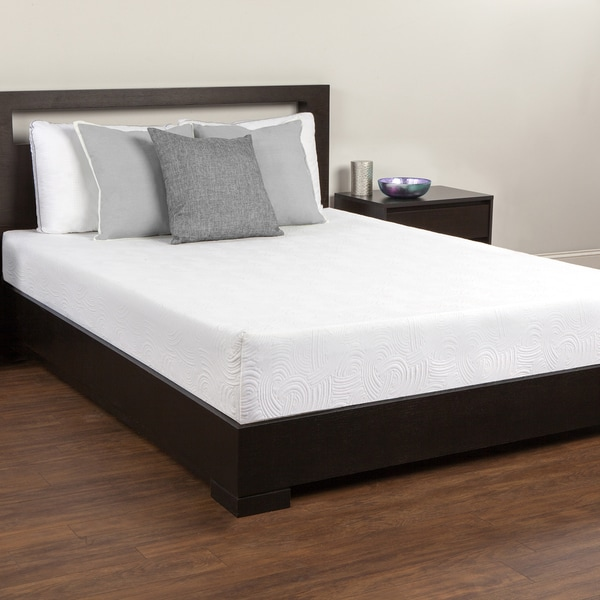Comfort Memories 10-inch Twin-size Memory Foam Mattress