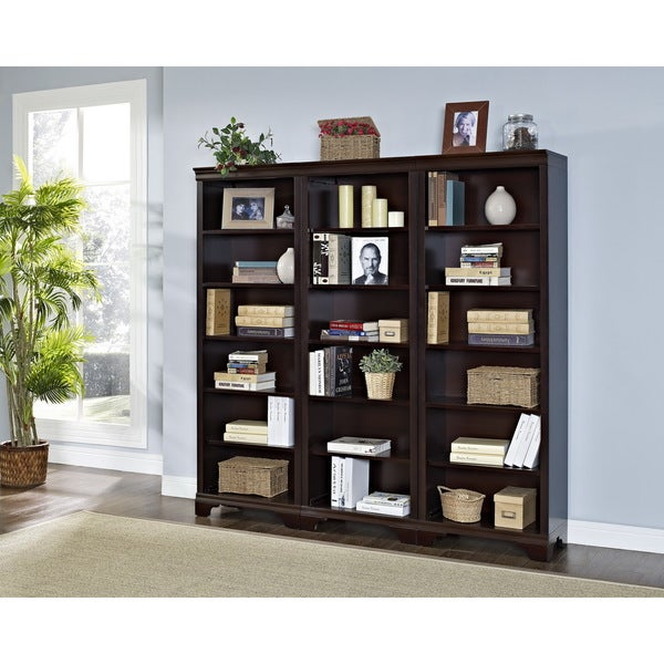 Mulberry 6-shelf Bookcase (Set of 3)