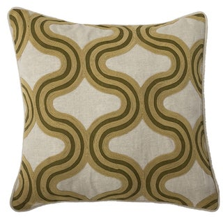 Kosas Home Linette 18-inch Feather and Down Filled Throw Pillow