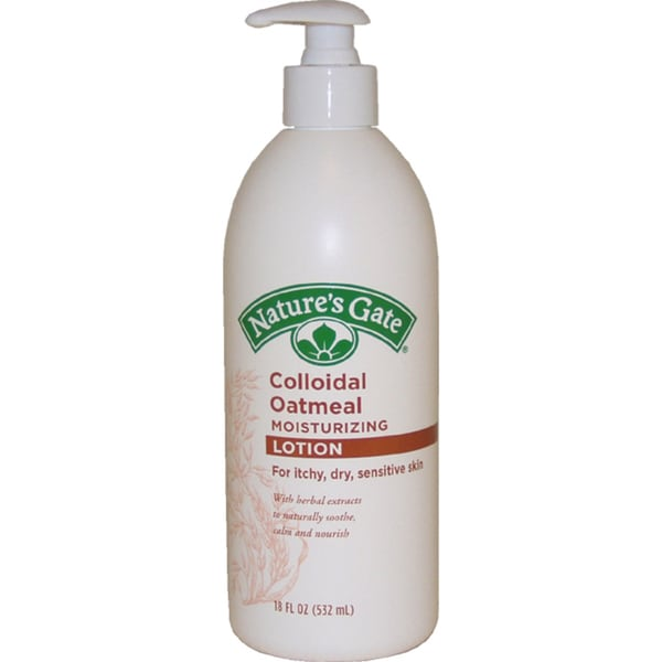 Nature's Gate Colloidal Oatmeal 18-ounce Moisturizing Lotion