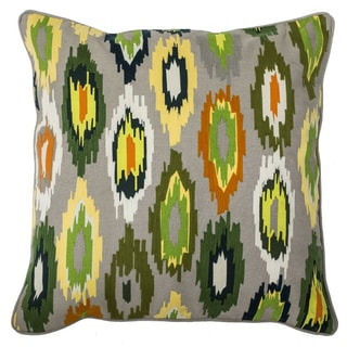 Kosas Home Baya Ikat 22-inch Feather Filled Throw Pillow
