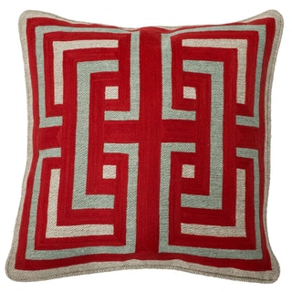 Kosas Home Cardinal 18-inch Feather Filled Throw Pillow