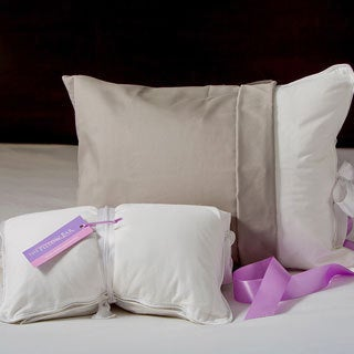 Pillow Bar Petite Roll-n-Go White Down Pillow