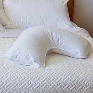 Pillow Bar Dr. Mary Side Sleeper White Down Pillow