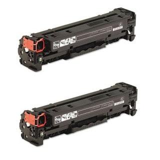 HP CE264X Compatible Remanufactured Black Toner Cartridge (2 Pack)