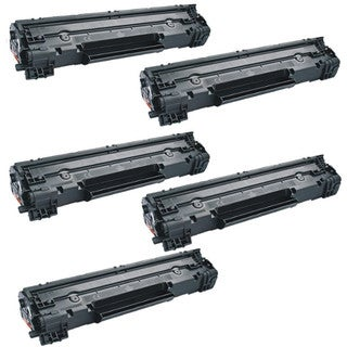Canon 126 Black High Yield Remanufactured Toner Cartridge (5 Pack)