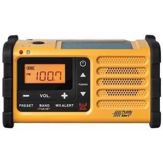 Sangean MMR-88 FM / AM / Weather / Handcrank / Solar / Emergency Aler