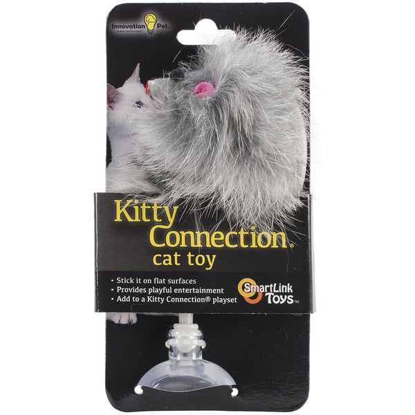 Kitty Connection Large Toy -Single Fur Mouse