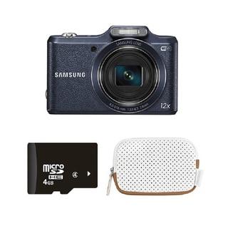 Samsung WB50F Black 16MP Smart Digital Camera Bundle