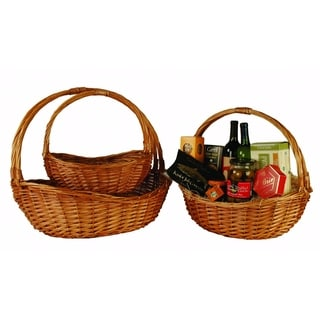 Large Willow Baskets (Set of 3)