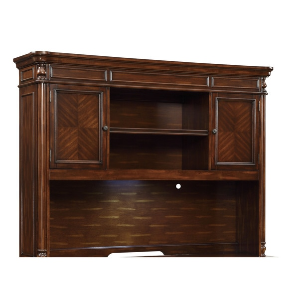 Webb Walnut 2-door Hutch