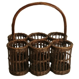 Wald Imports Willow 16-inch Wine Basket