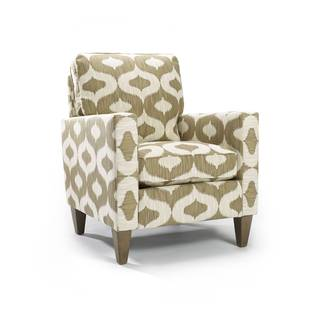Kinsey Oatmeal Polyester Club Chair