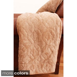 Lucinda 50-inch by 60-inch Embroidered Throw