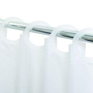 Quik Hang No-hook Eco-friendly PEVA Shower Curtain/Liner