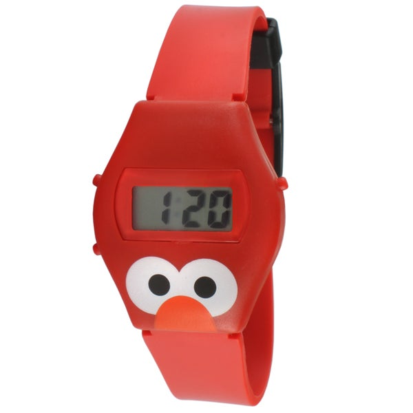Sesame Street Kids' Talk To Me Elmo Digital Watch ...