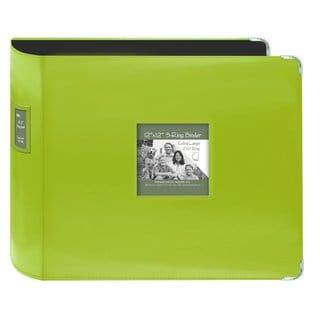 Pioneer Jumbo 3-ring Bright Green Scrapbook Binder with Bonus Refill Pack (12x12)