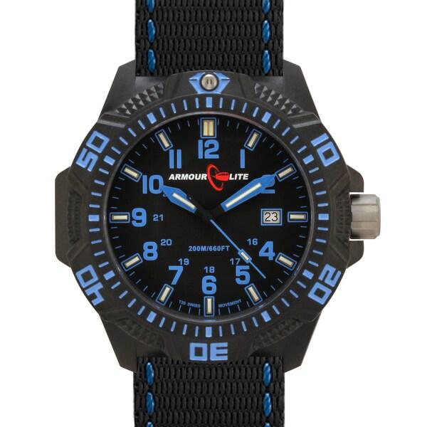 Armourlite Men's Caliber Series Blue Tritium Watch