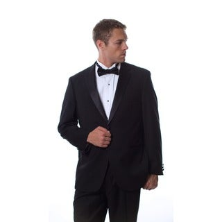Caravelli Men's Formal Wear Black Tuxedo