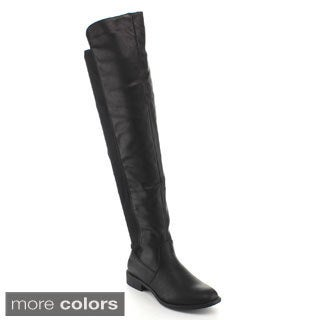 Top Moda Women's 'Polly-8' Knee-high Riding Boots