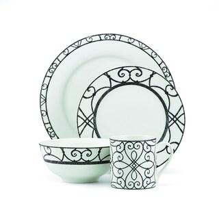 Lenox Gorham Emeril Decatur Street White 20-piece Dinnerware