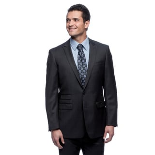 Calvin Klein Men's Navy Wool Suit