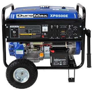 DuroMax 8500 Watt 16.0 HP Gas Generator with Electric Start and Wheel Kit CARB Approved