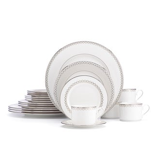 Lenox Quatrefoil Dinnerware 20 piece set