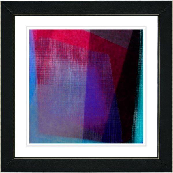 Studio Works Modern 'Weave Series - XII' Framed Fine Art Print