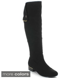 XB2 Women's 'Groove-1' Slouchy Knee-high Boots