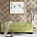 Madison Park Mirage Bench Storage Ottoman with Tufted Top