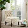 Madison Park Lola Tufted Armless Chair