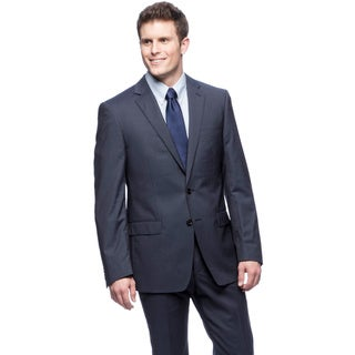 Tahari Men's Navy Wool Suit