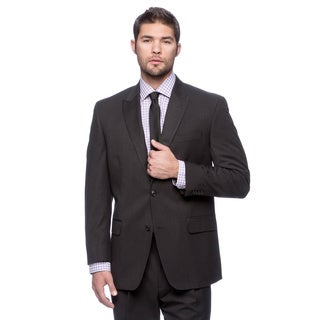 Sean John Black Double-vented Suit
