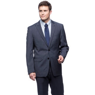 Tahari Men's Navy 2-piece Wool Suit