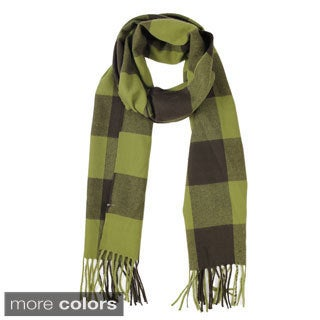 Le Nom Checkers Woven Scarf