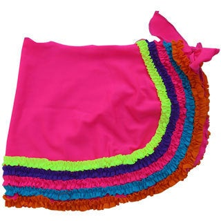 Azul Swimwear Girl's Pink Chasing Rainbows Pareo